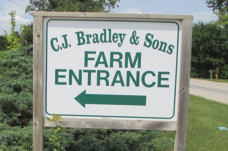 C.J. BRADLEY AND SONS east for Alpine testimonial